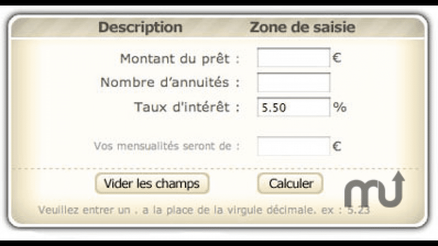 Calcul de pret for Mac - review, screenshots