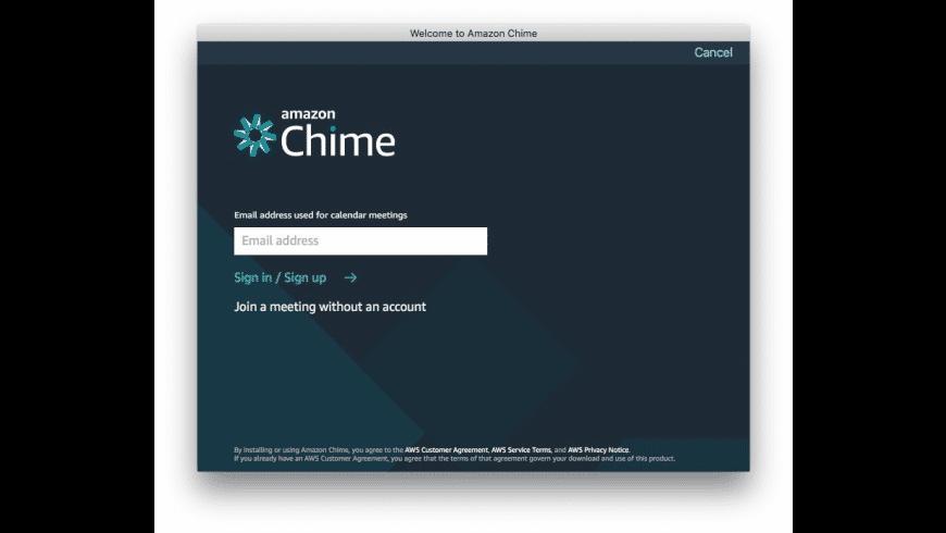 Amazon Chime for Mac - review, screenshots