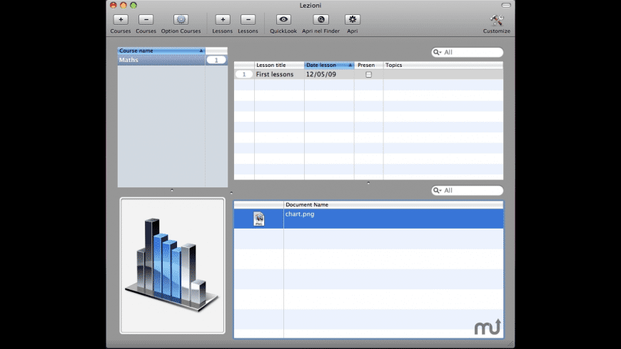 Lezioni for Mac - review, screenshots