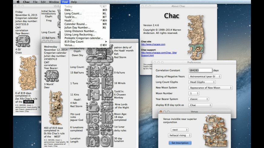 Chac for Mac - review, screenshots
