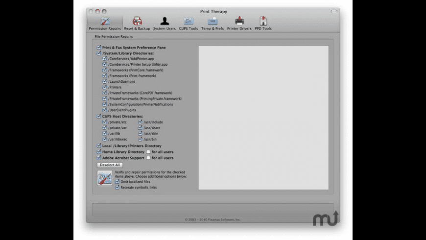 Print Therapy for Mac - review, screenshots