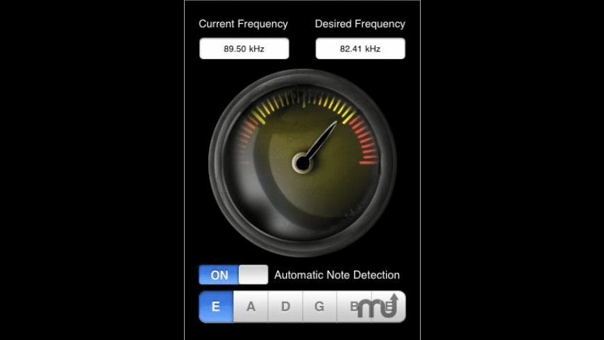 Accurate Guitar Tuner for Mac - review, screenshots