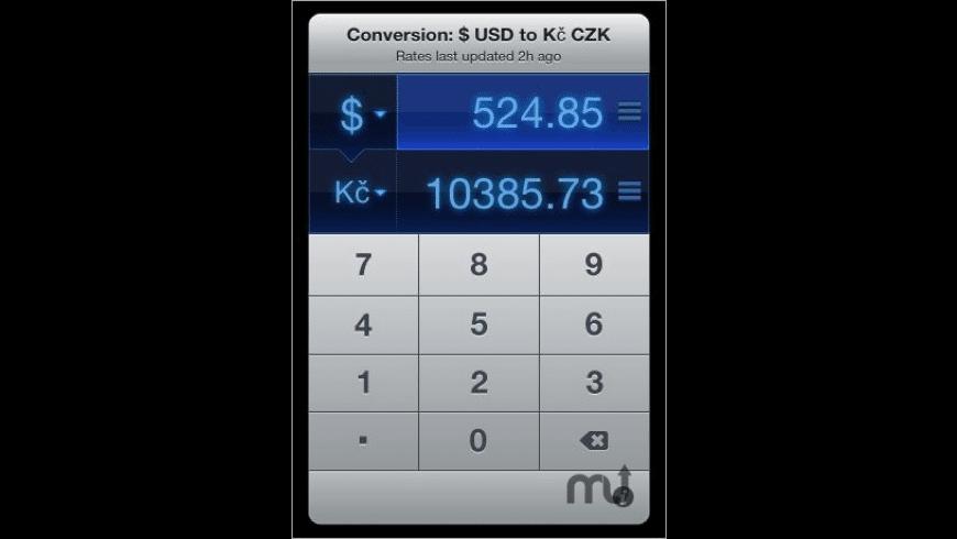 Currencies for Mac - review, screenshots