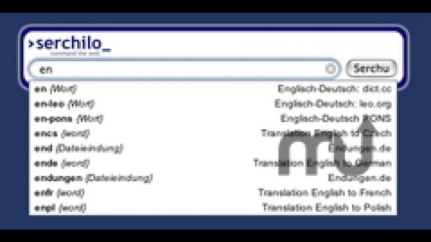 Serchilo for Mac - review, screenshots