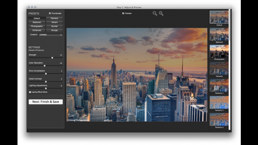 Photomatix Essentials for Mac - review, screenshots