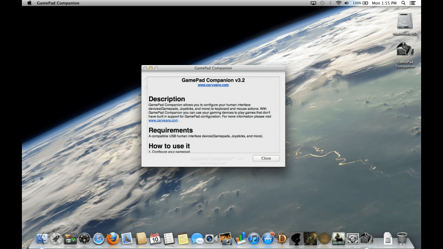 GamePad Companion for Mac - review, screenshots
