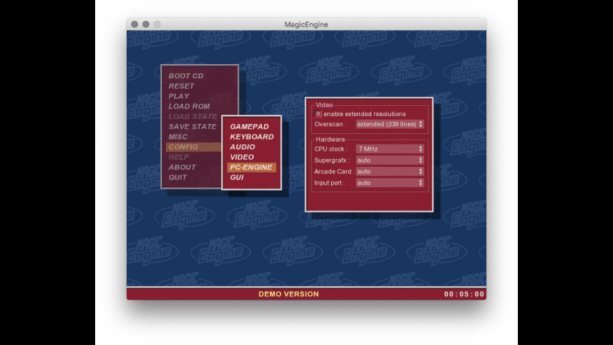 Magic Engine for Mac - review, screenshots