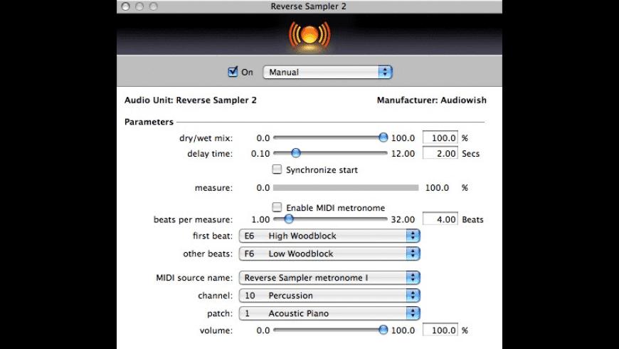 Reverse Sampler for Mac - review, screenshots