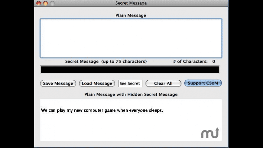Secret Message for Mac - review, screenshots