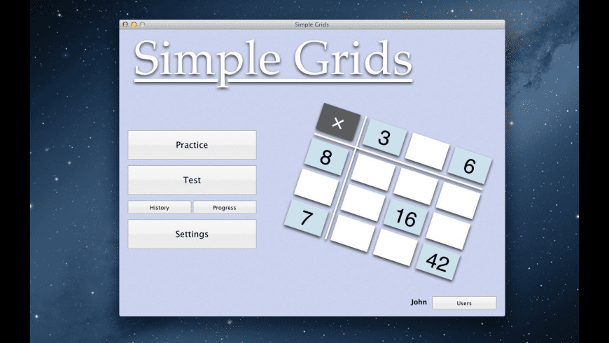 Simple Grids for Mac - review, screenshots