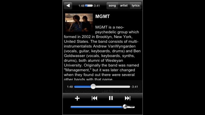 Simplify Music for Mac - review, screenshots