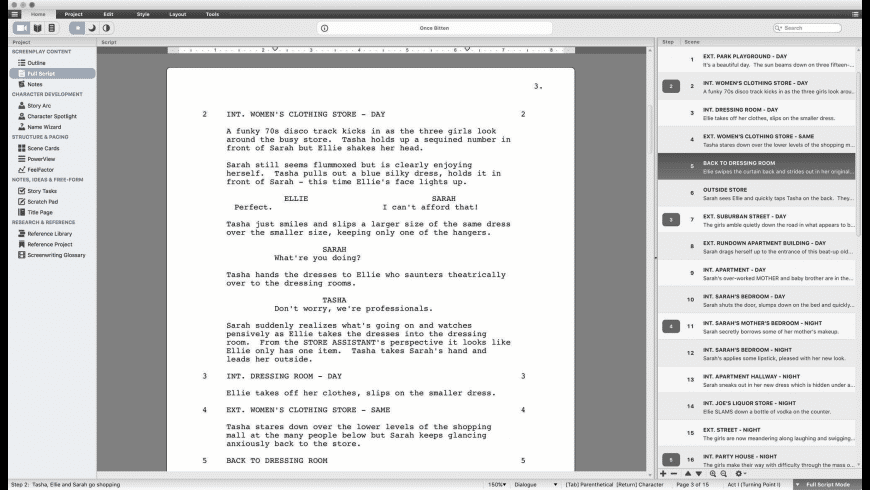 Script Studio for Mac - review, screenshots