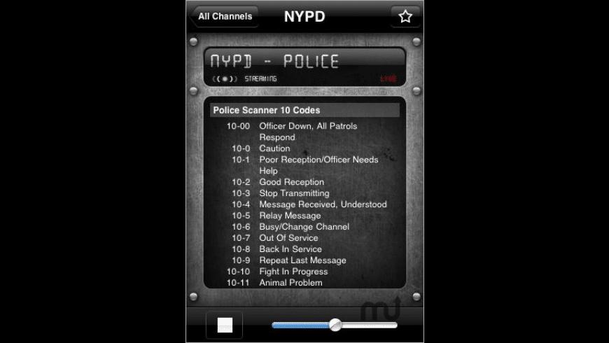 Emergency Radio for Mac - review, screenshots
