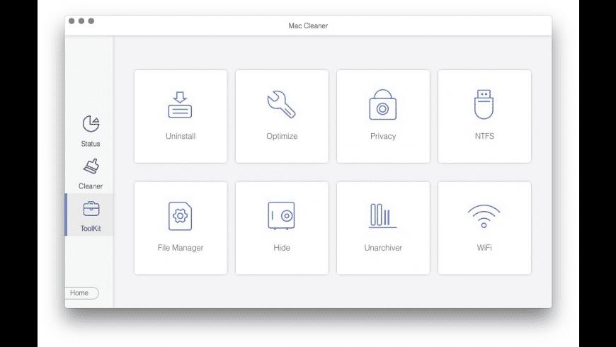 Mac Cleaner for Mac - review, screenshots