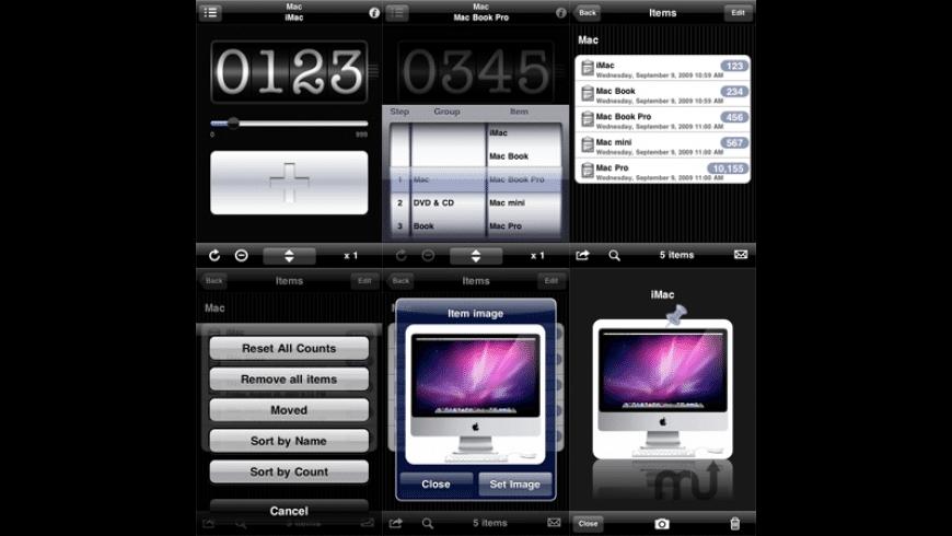 mCounter for Mac - review, screenshots