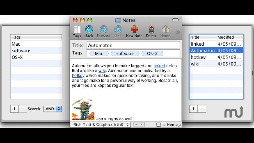 Automaton for Mac - review, screenshots