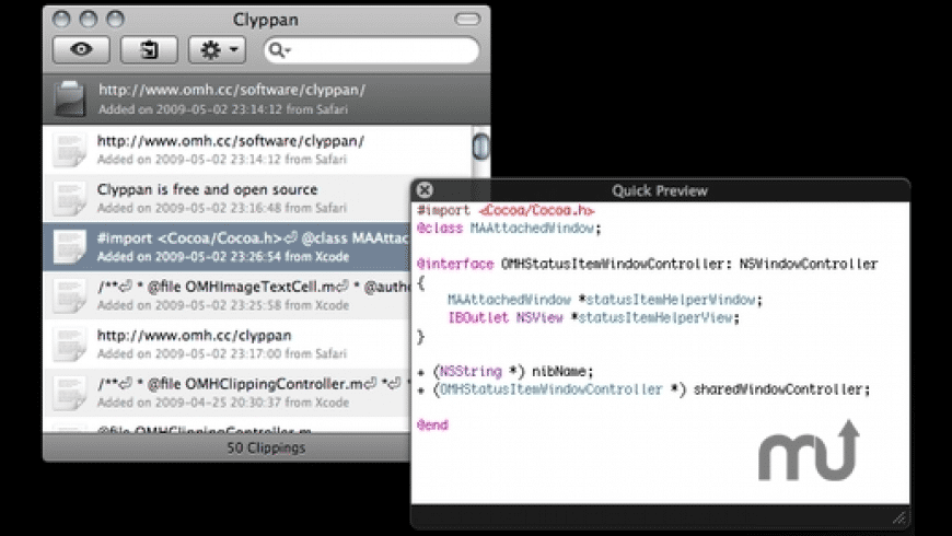 Clyppan for Mac - review, screenshots
