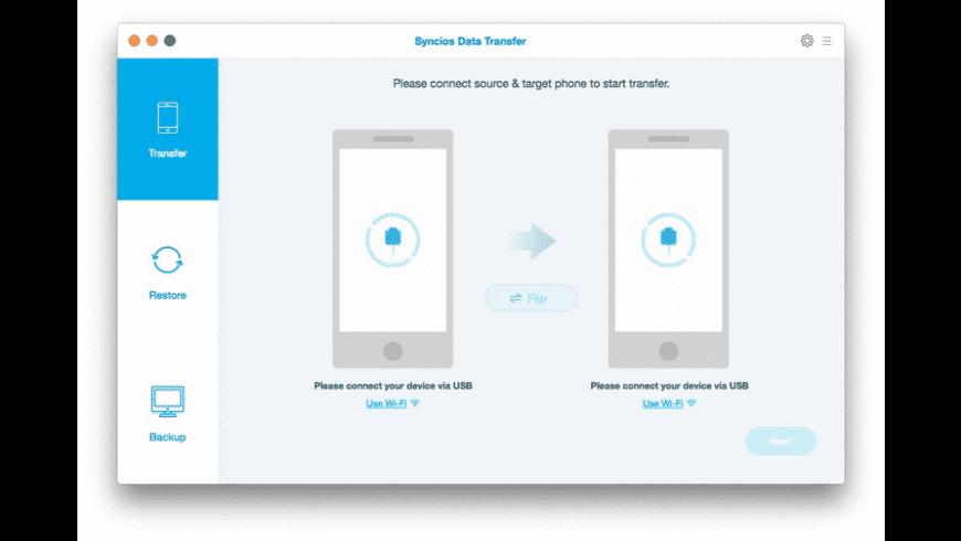 Syncios Data Transfer for Mac - review, screenshots