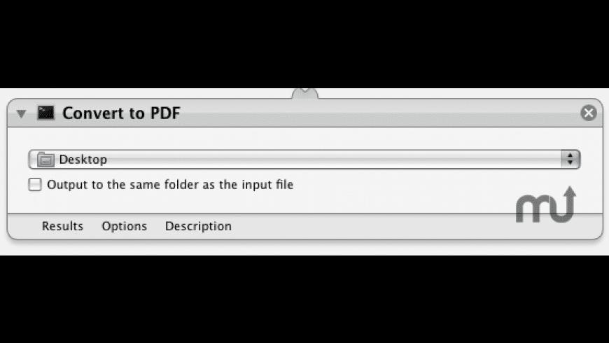 Convert to PDF for Mac - review, screenshots