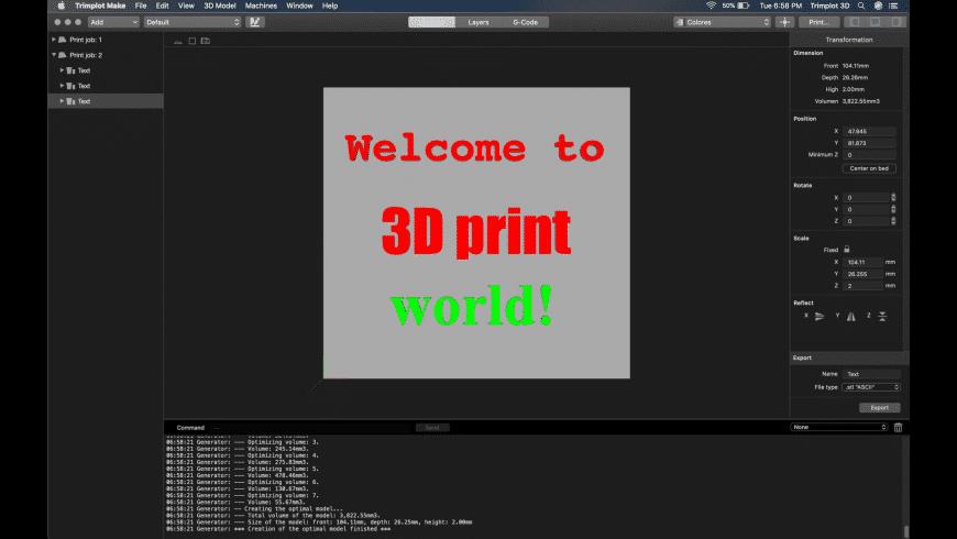 Trimplot Make for Mac - review, screenshots