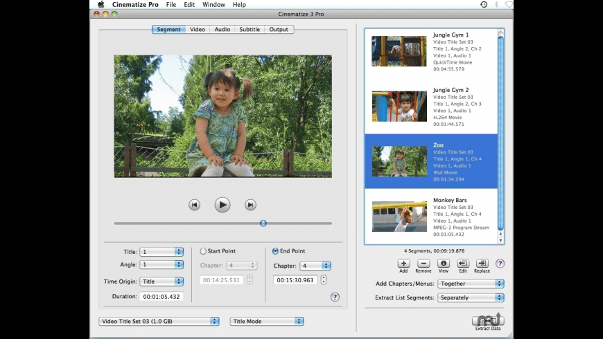 Cinematize Pro for Mac - review, screenshots