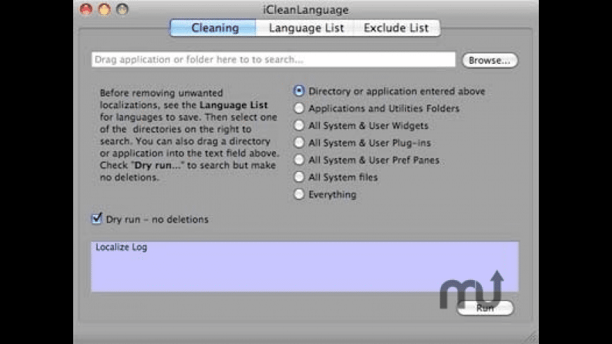iCleanLanguage for Mac - review, screenshots