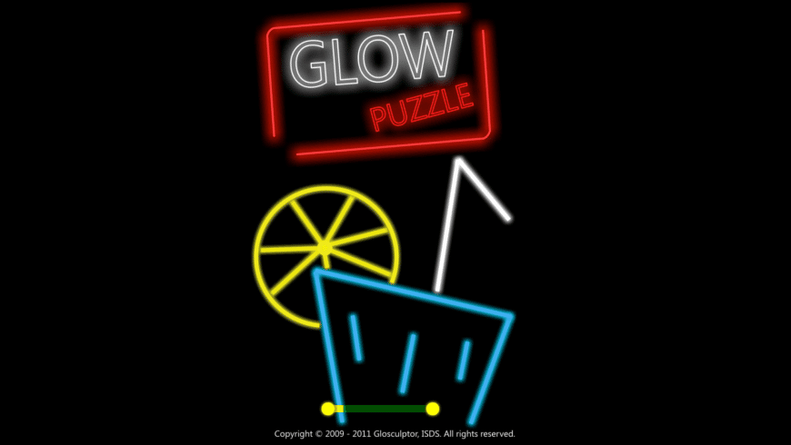 GlowPuzzle for Mac - review, screenshots