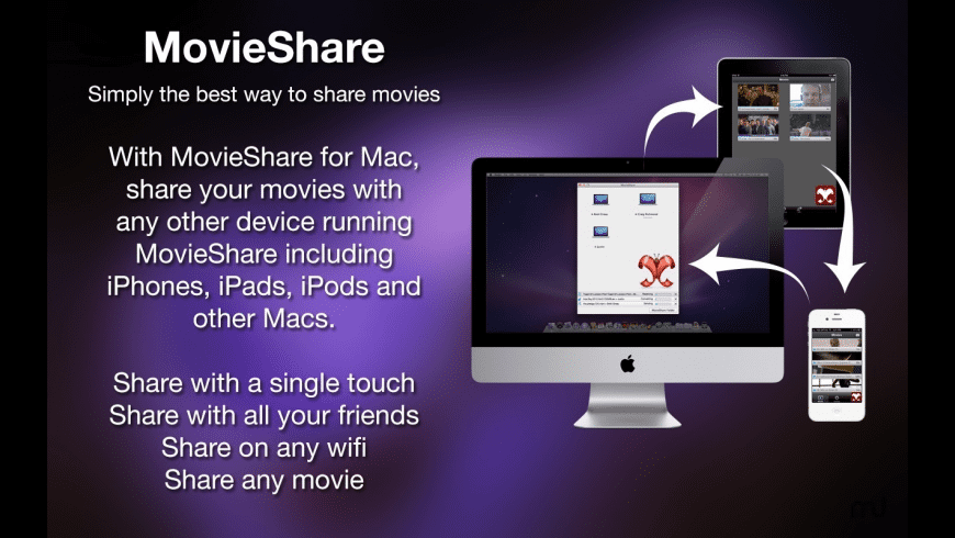 MovieShare for Mac - review, screenshots