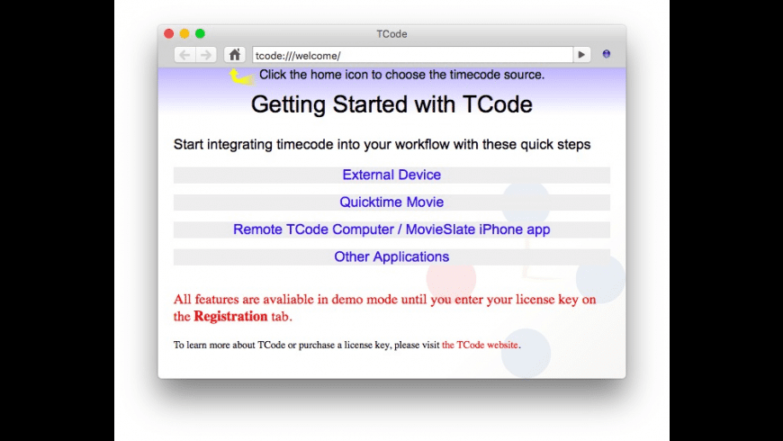 TCode4 for Mac - review, screenshots