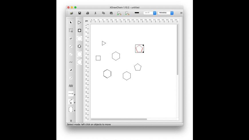 XDrawChem for Mac - review, screenshots