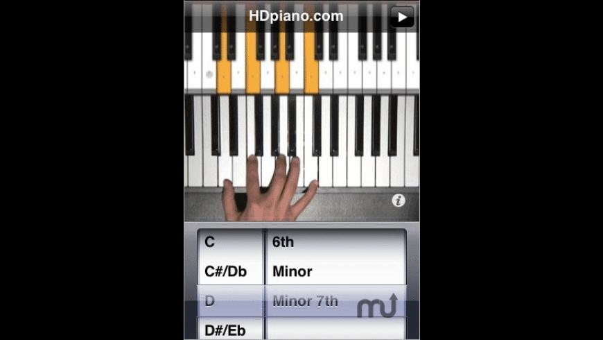 Chord Picker for Mac - review, screenshots