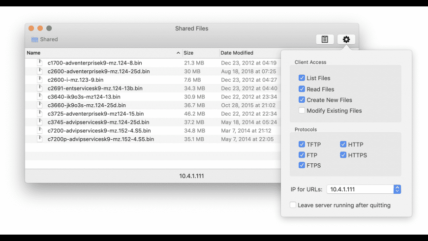 Trivial for Mac - review, screenshots