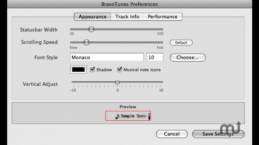 BravoTunes for Mac - review, screenshots