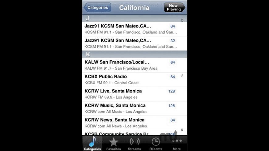 Public Radio for Mac - review, screenshots