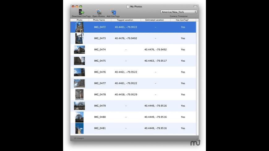 GeoTag Desktop for Mac - review, screenshots