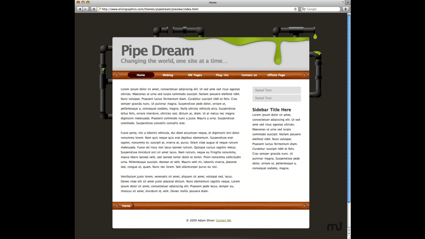 Pipe Dream for Mac - review, screenshots