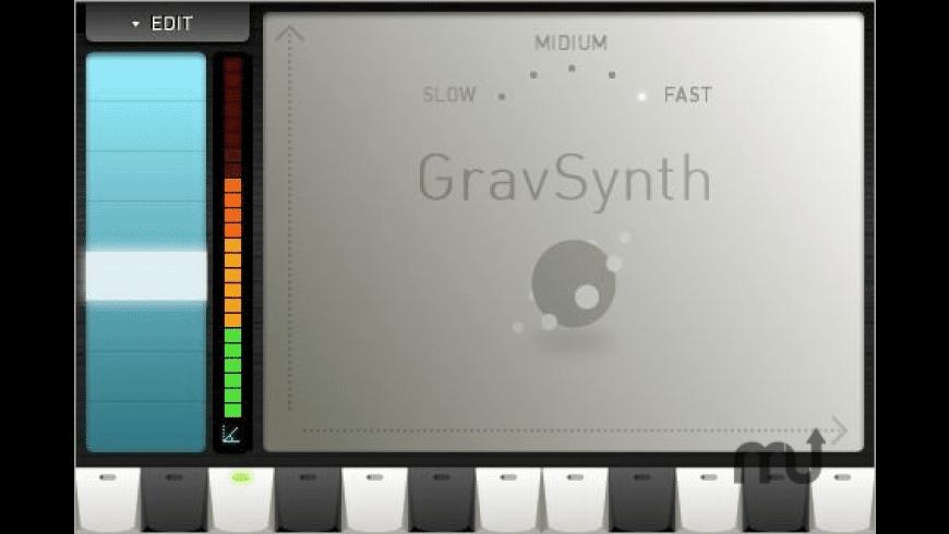 GravSynth for Mac - review, screenshots