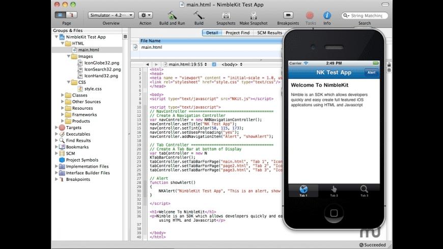NimbleKit for Mac - review, screenshots