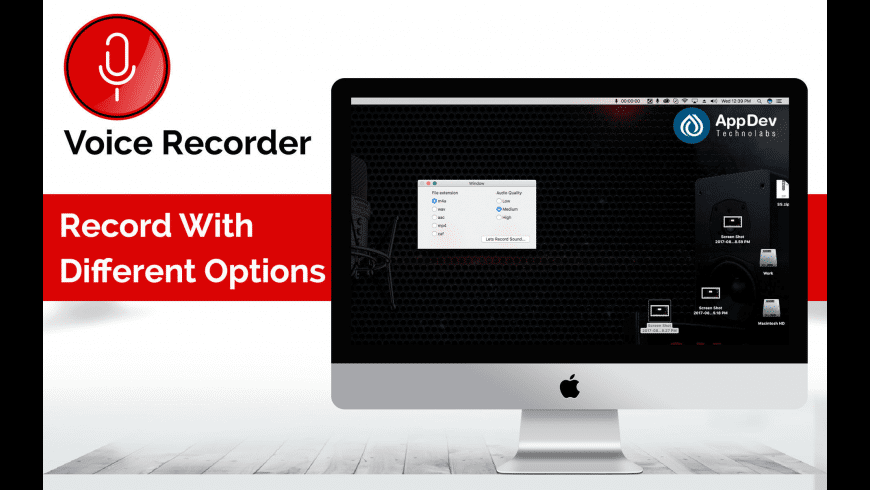 Voice Recorder for Mac - review, screenshots