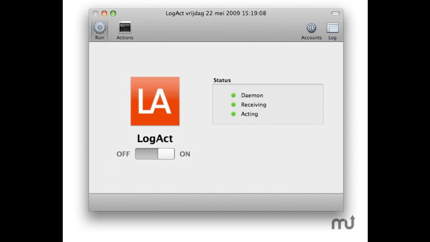 LogAct for Mac - review, screenshots