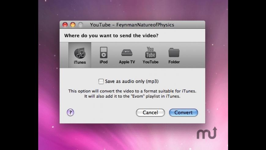 Evom for Mac - review, screenshots