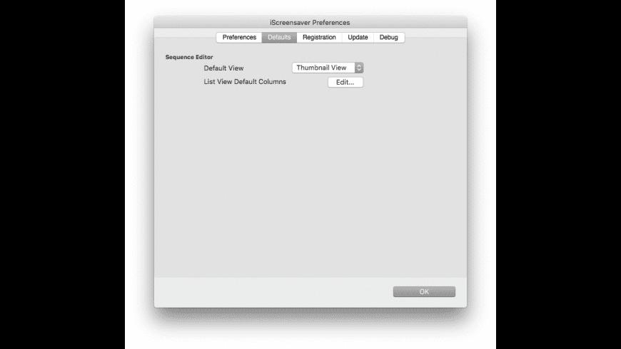 iScreensaver Designer for Mac - review, screenshots