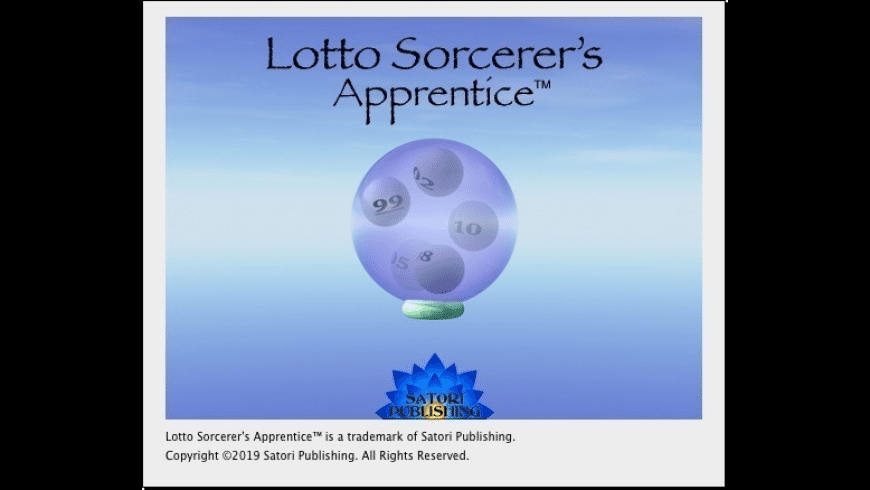 Lotto Sorcerer's Apprentice for Mac - review, screenshots