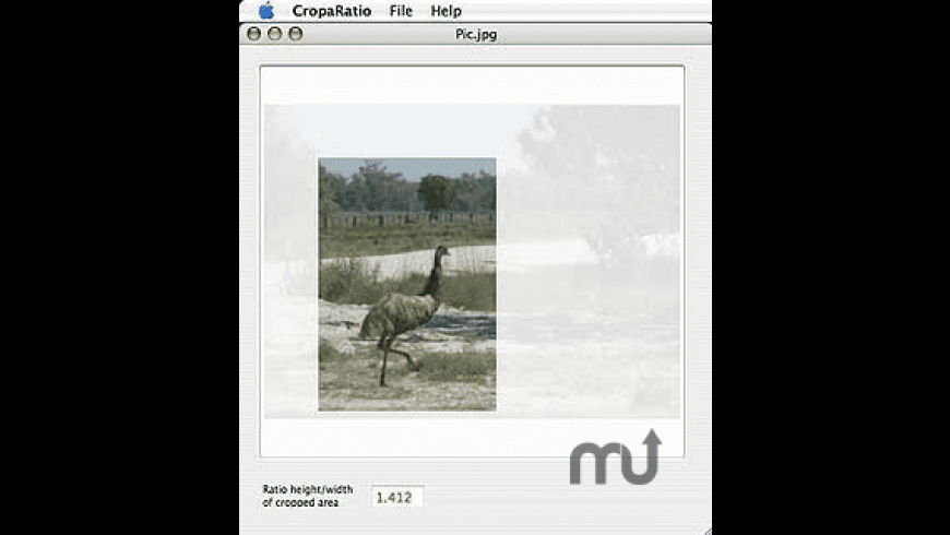 CropaRatio for Mac - review, screenshots