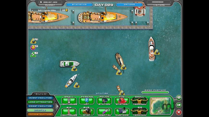 Youda Marina for Mac - review, screenshots