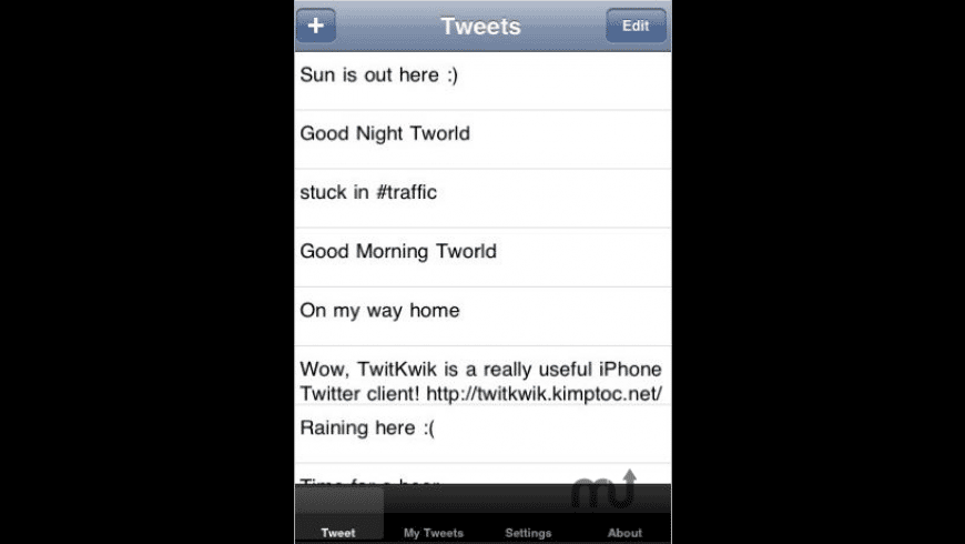 TwitKwik for Mac - review, screenshots