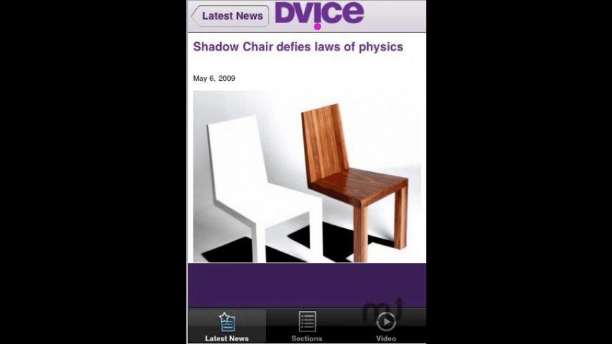 DVICE Reader for Mac - review, screenshots