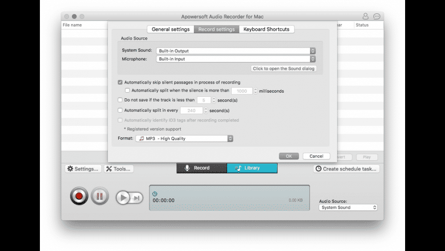 Apowersoft Mac Audio Recorder for Mac - review, screenshots