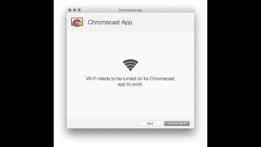Chromecast mac os x app