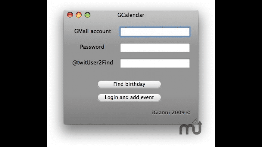 GCalendar for Mac - review, screenshots
